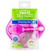 Heinz Baby Basics Weaning Set Pink