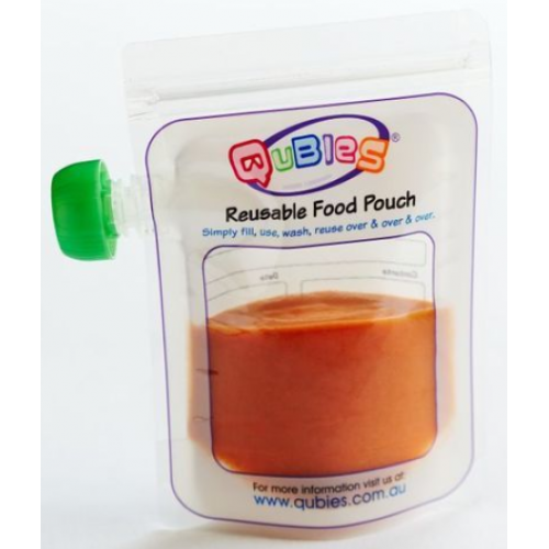 Qubies Reusable Food Pouch