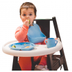 Wean Meister Scoopsy Plate Baby Pink