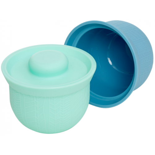 Wean Meister Adorabowls Mint Teal Blue