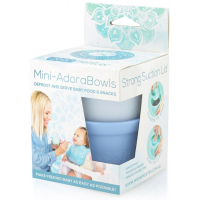 Wean Meister Mini Adorabowls Grey Baby Blue
