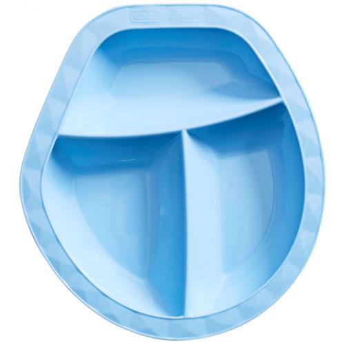 Wean Meister Scoopsy Plate Baby Blue