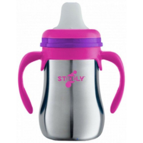 Steely First Sip Cup Pink