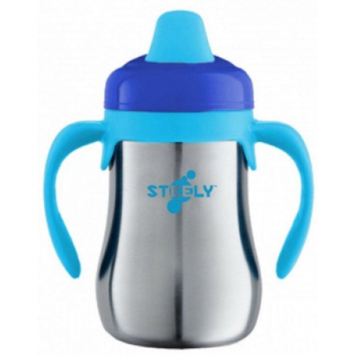 Steely Non Spill Cup Blue