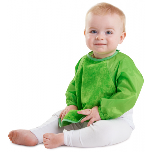 Mum 2 Mum Sleeved Bib Lime