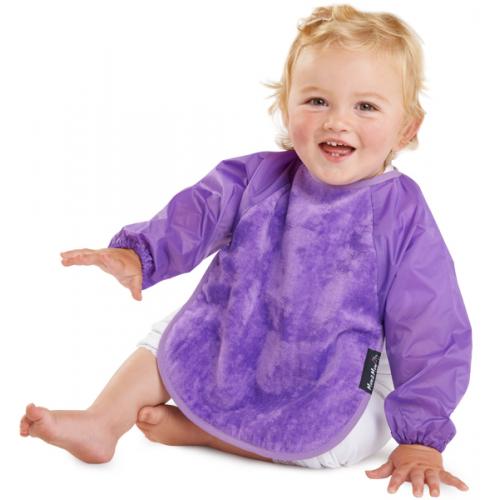 Mum 2 Mum Sleeved Bib Purple