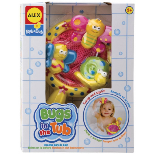 Alex Bugs In The Tub Toy