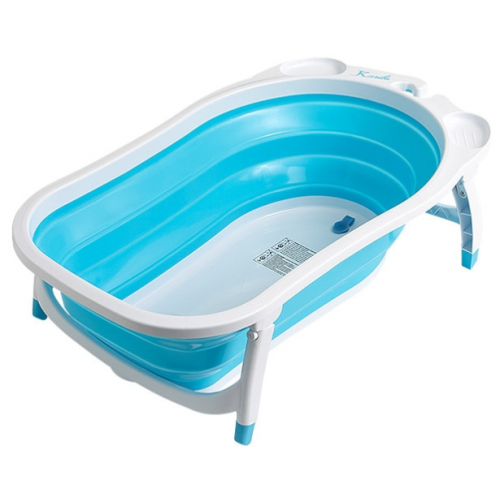 Roger Armstrong Flat Fold Bath Blue