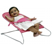 Babyhood Safety Mesh Bouncer Pink