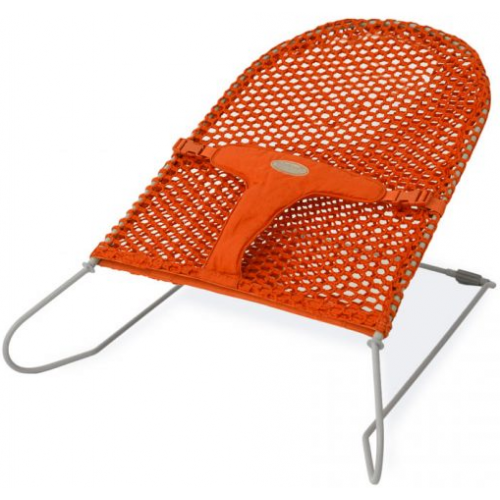 Babyhood Safety Mesh Bouncer Tangerine