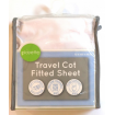 Playette Travel Cot Fitted Sheet White