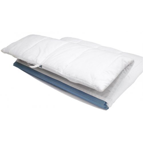 The Sleepover Padded Fitted Sheet White