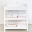 Living Textiles Rope Storage Set White Blush