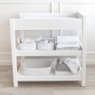 Living Textiles 3pc Rope Storage Set White