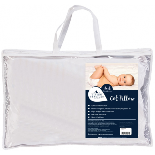 Living Textiles Essentials Cot Pillow