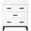 Babyletto Scoot 3 Drawer White Walnut