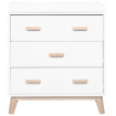 Babyletto Scoot 3 Drawer White Washed Natural
