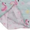 Lolli Living All Seasons Cot Quilt Flamingo