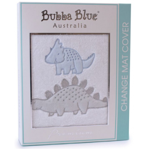 Bubba Blue Change Mat Cover Jurassic