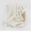 Bubba Blue Cotton Hooded Towel Organic Feathers