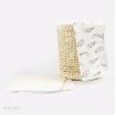 Bubba Blue Cotton 2Pk Burp Pads Organic Feathers