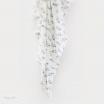 Bubba Blue Cotton Muslin Swaddling Wrap Organic Feathers
