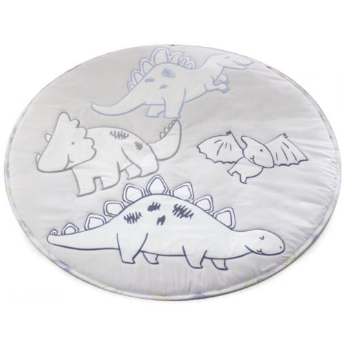 Bubba Blue Round Playmat Jurassic Dinosaur