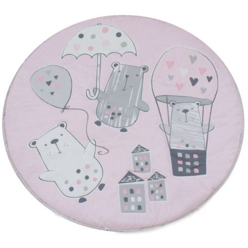 Bubba Blue Round Playmat Beary Sweet