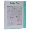 Bubba Blue Muslin Blanket Beary Sweet