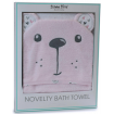 Bubba Blue Novelty Hooded Bath Towel Beary Sweet