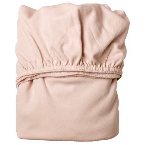 Leander Cot Fitted Sheets Soft Pink