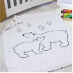 Bubba Blue Cot Quilt Cover with Duvet Polar Bear