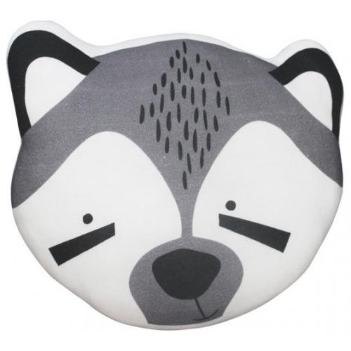 Mister Fly Cushion Raccoon