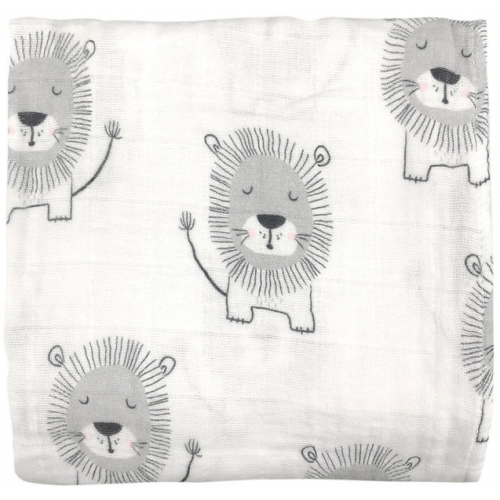 Mister Fly Muslin Wrap Lion