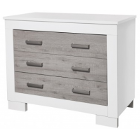 Love n Care Lucca Chest White Ash
