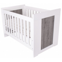 Love n Care Lucca Cot White Ash