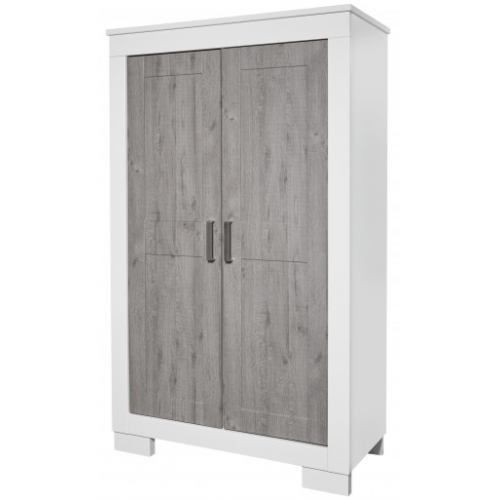 Love n Care Lucca Wardrobe White Ash