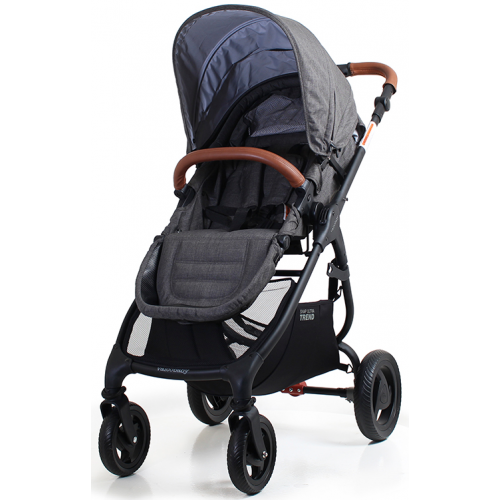 Valco Ultra Trend Charcoal + Free Angelcare Nappy System