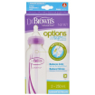 Dr Browns Options Narrow Bottle 250ml Twin Purple
