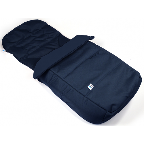 Bumbleride Footmuff and Seat Liner Maritime Blue