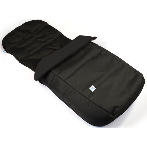 Bumbleride Footmuff and Seat Liner Matte Black
