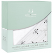 Aden Anais Muslin Backed Hooded Towel Set Lovestruck