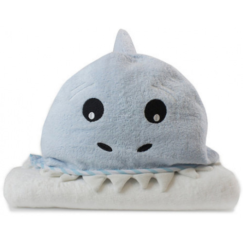 Bubba Blue Novelty Hooded Bath Towel Shark