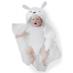 Bubba Blue Novelty Hooded Bath Towel Sheep