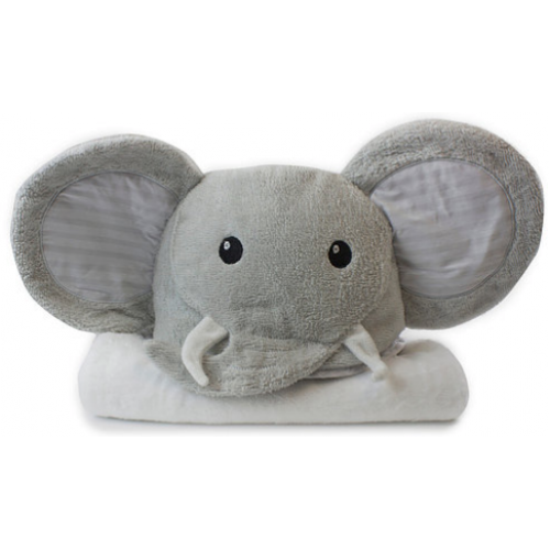 Bubba Blue Novelty Hooded Bath Towel Elephant