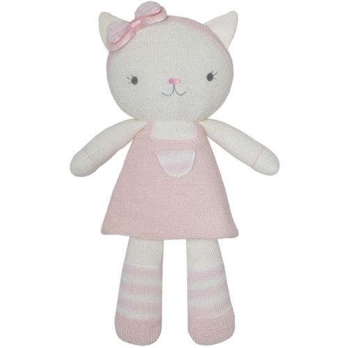 Living Textiles Soft Toy Daisy the Cat