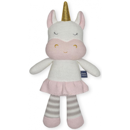Living Textiles Soft Toy Kenzie the Unicorn