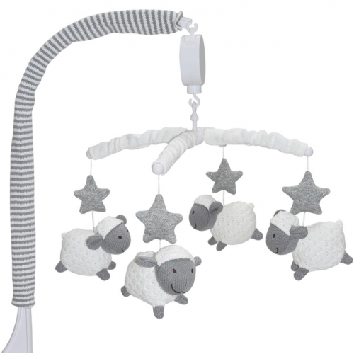 Living Textiles Musical Mobile Set Sheep