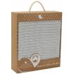 Living Textiles Organic Bassinet Cellular Blanket Grey