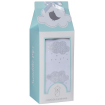 Living Textiles Swaddle Me Gift Set Silver Clouds